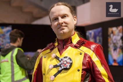 Firestorm cosplay by Jon McGavin