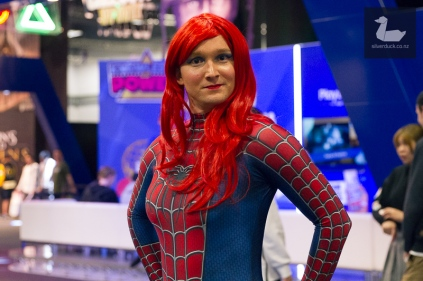 Mary Jane Spiderman cosplay by RiverFish.
