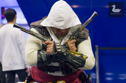 Assassin's Creed cosplay by Joseph Maugaotega.