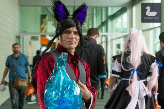 Ahri, League of Legend cosplay by Dion Sanford.