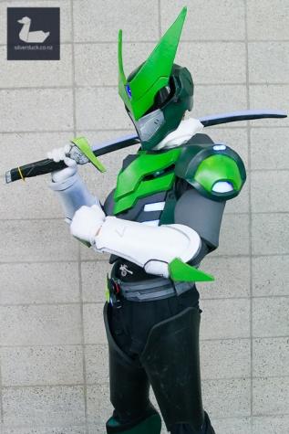 Sentai Genji cosplay by Renzo Bonifacio.