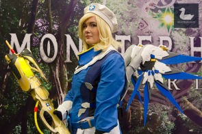Mercy, Overwatch cosplay by Lavily Cosplay.
