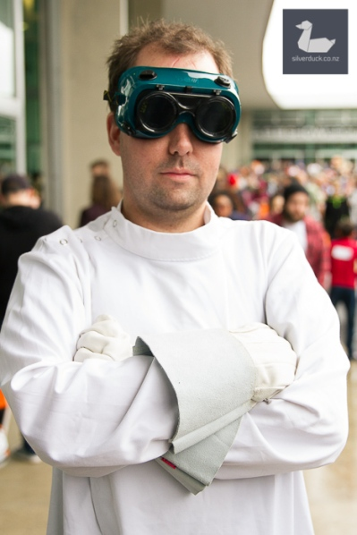 Dr. Horrible cosplay by Leon Brooke.