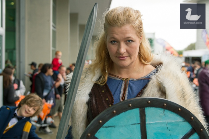 Lagertha, Vikings cosplay by Sian Noir.