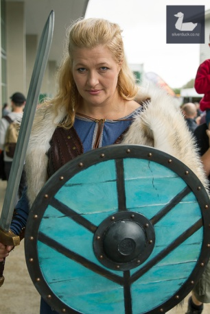 Lagertha, Vikings cosplay by Sian Noir.