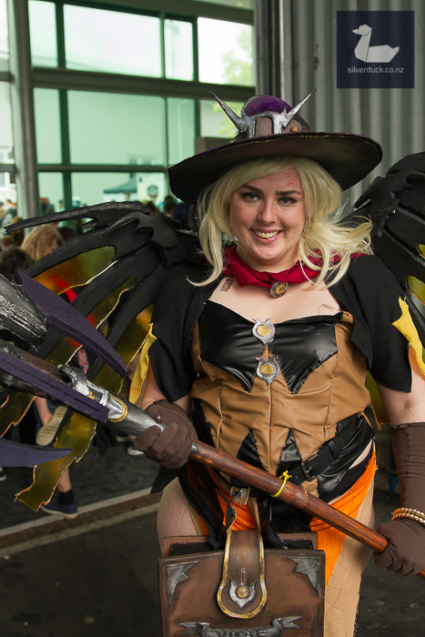 Mercy, Overwatch cosplay by Tegan Walsh.