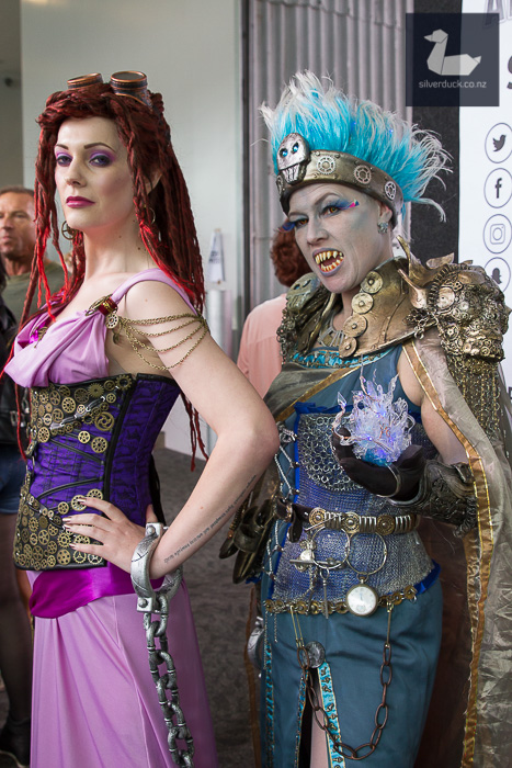 Megara & Hades (Hercules) cosplay by cosplay by Abnormal Adlam & Blackwood Cosplay.