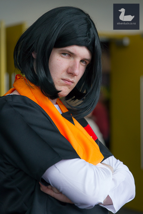 Android 17, Dragon Ball cosplay by Ash Trubshoe.
