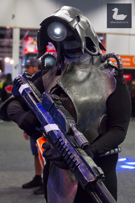 Legion, Mass Effect cosplay by Multiversal Cosplay.