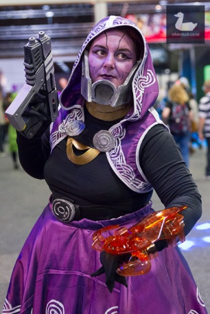 Tali, Mass Effect cosplay by BobbyPins.