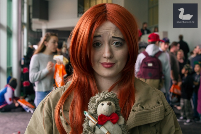Amy Pond, Dr Who cosplay by Jellicle Cosplay.