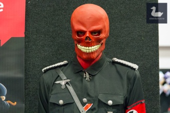 Red Skull cosplay by Ramon Hopkins.