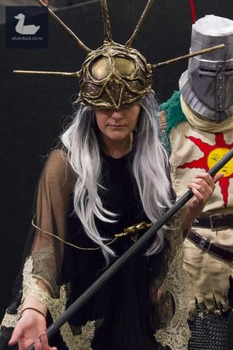 Aldrich, Dark Souls 3 cosplay by Rhia Mchugh.