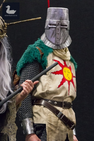 Solaire, Dark Souls cosplay by Jonny Rutherfurd.
