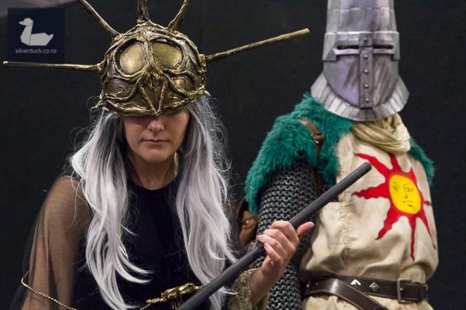 Aldrich & Solaire, Dark Souls cosplay by Rhia Mchugh & Jonny Rutherfurd.