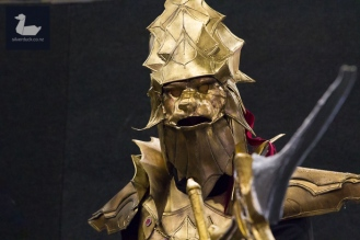 Ornstein, Dark Souls cosplay by Kirk Smith.