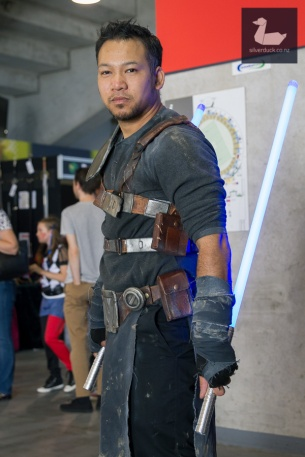 Starkiller cosplay by SpicyThaiDesign. Wellington Armageddon Expo 2018. Photo by Silver Duck.