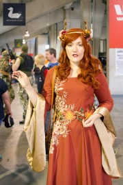Autumn Elf character by Cosplay Cyanide. Armageddon Expo Wellington 2018. Photo by Silver Duck.