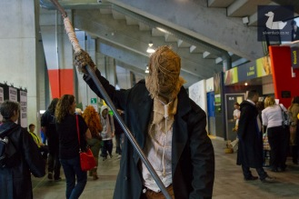 Scarecrow by Daniel Robinson. Wellington Armageddon Expo 2018. Photo by Silver Duck.