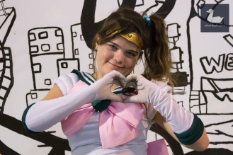 Sailor Jupiter cosplay by FoxyMcroxy. Wellington Armageddon Expo 2018. Photo by Silver Duck.