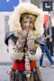 Astrid Cosplay by Chameleon Costume. Wellington Armageddon Expo 2018. Photo by Silver Duck.