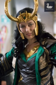 Loki cosplay by Josiene Vm. Wellington Armageddon Expo 2018. Photo by Silver Duck.