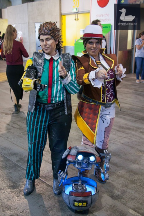Borderlands cosplay by Team Booyakasha. Wellington Armageddon Expo 2018. Photo by Silver Duck.