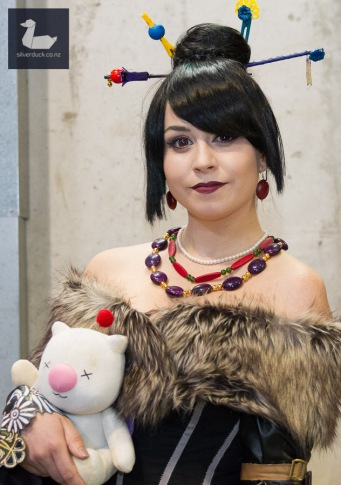 Lulu (Final Fantasy X) cosplay by Mortrasy Cosplay. Wellington Armageddon Expo 2018. Photo by Silver Duck.