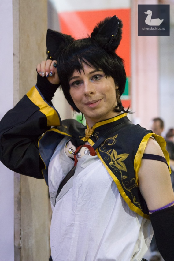 Kali Belladonna (RWBY) cosplay by Charlottes' Cosplay Cove. Wellington Armageddon Expo 2018. Photo by Silver Duck.