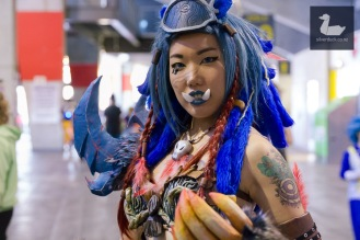 Guardian Druid - Humanised by Craftglu. Wellington Armageddon Expo 2018. Photo by Silver Duck.