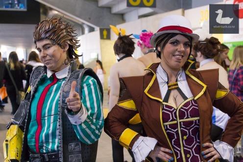 Borderlands cosplay by Team Booyakasha. Wellington Armageddon Expo 2018. Photo by Silver Duck.