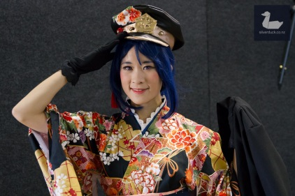 Matsuura Kanan (Job Version) cosplay by Squishy Blob. Wellington Armageddon Expo 2018. Photo by Silver Duck.
