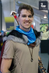 Male Aloy (Horizon Zero Dawn) cosplay by Blair Hamilton. Wellington Armageddon Expo 2018. Photo by Silver Duck.
