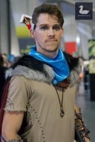 Male Aloy (Horizon Zero Dawn) cosplay by Blair Hamilton. Wellington Armageddon Expo 2018. Photo by Silver Duck.