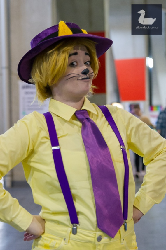 Top Cat cosplay by Jellicle Cosplay. Wellington Armageddon Expo 2018. Photo by Silver Duck.