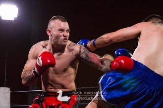 Capital Punishment 43 fight 4. Jabe Tyler (CFC/Universal Vale Tudo) vs Ben Molesi (Fortitude Masterton). Copyright © 2018 Silver Duck. All Rights Reserved.