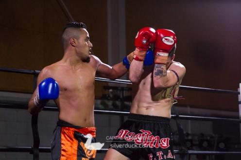 Capital Punishment 43 fight 9. Joe Long (FTA Porirua) vs Zair Hussain (Dannevirke Bulldogs). Copyright © 2018 Silver Duck. All Rights Reserved.
