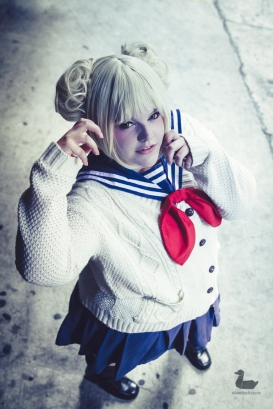 Himiko Toga (My Hero Academia) cosplay by Stowaway Sews. Wellington Cosplay Photo Fest. Copyright © 2019 Silver Duck. All rights reserved.