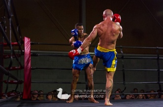 Capital Punishment 46. Fight 7 - Harley Walker (Auckland MMA) vs Lau'c Taualupe (MTI Wellington). Copyright © 2019 Silver Duck. All Rights Reserved.