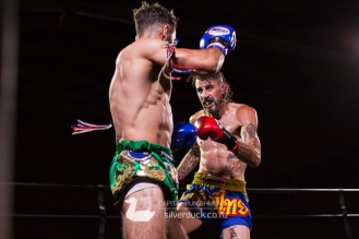 Capital Punishment 46. Fight 11 - Dan Robertson (Kapiti Thai Boxing) vs Ajay Al Saeed (Kru Chain Muay Thai). Copyright © 2019 Silver Duck. All Rights Reserved.