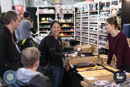 At Hobbyzone booth. Wellington Armageddon Expo 2019. Day 1. Photo by Wiebe Baron for Silver Duck and No Hands No Excuses. Copyright © 2019 Silver Duck. All Rights Reserved.