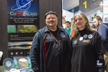 ConZealand. Wellington Armageddon Expo 2019. Day 1. Copyright © 2019 Silver Duck. All Rights Reserved.