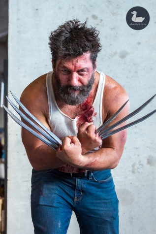 Wolverine (X-men) cosplay by Dean Packwood. Wellington Armageddon Expo 2019. Day 1. Copyright © 2019 Silver Duck. All Rights Reserved.