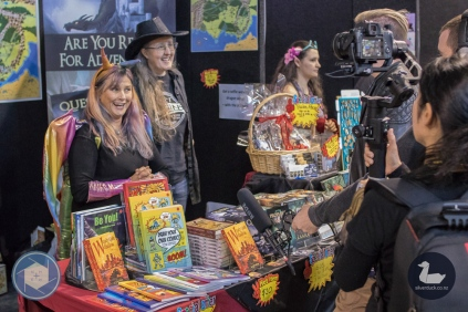 Wellington Armageddon Expo 2019. Day 2. Photo by Heston Hawe for Silver Duck and No Hands No Excuses. Copyright © 2019 Silver Duck. All Rights Reserved.