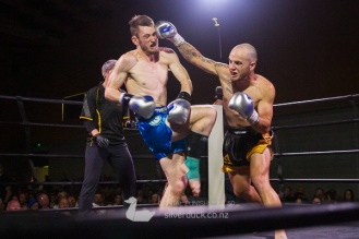 Chris Peachey (Undisputed MMA) vs Matt Croxford (MTI Wellington). Capital Punishment 50, Wellington, NZ. Copyright © 2019 Silver Duck. All Rights Reserved.