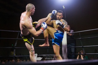 Vin Jones (Si Lee Gar/EFC) vs vs Lau'c Taualupe (MTI Wellington). Capital Punishment 50, Wellington, NZ. Copyright © 2019 Silver Duck. All Rights Reserved.